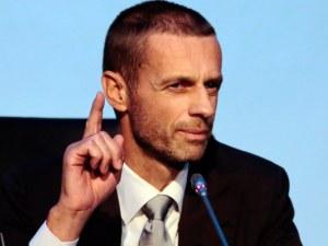УЕФА удължава срока на завършване на първенствата