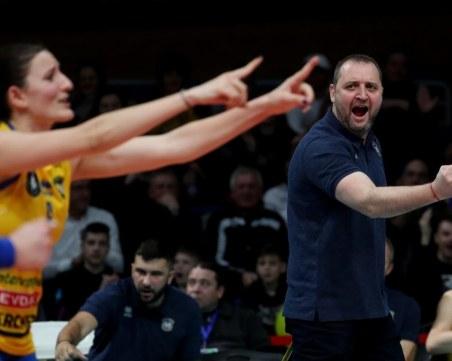 Треньорът на Марица: Няма как да се зарадвам