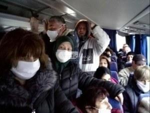 Солени глоби за превозвачите в Пловдив заради претъпканите автобуси