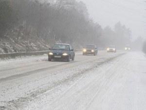 Сняг и ограничения на проходите у нас