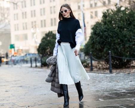 Как да изберем идеалната пола според краката?