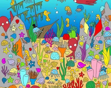 Открийте къде е рибата сред всички останали морски животни