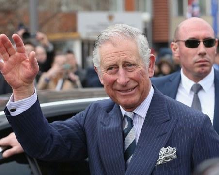 Принц Чарлз откри дистанционно временната болница в най-големия изложбен център
