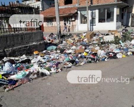 Събраха 5 000 хиляди тона боклук от сметищата в Столипиново