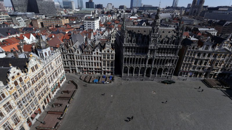 Сграда на европарламента може да се превърне в болница