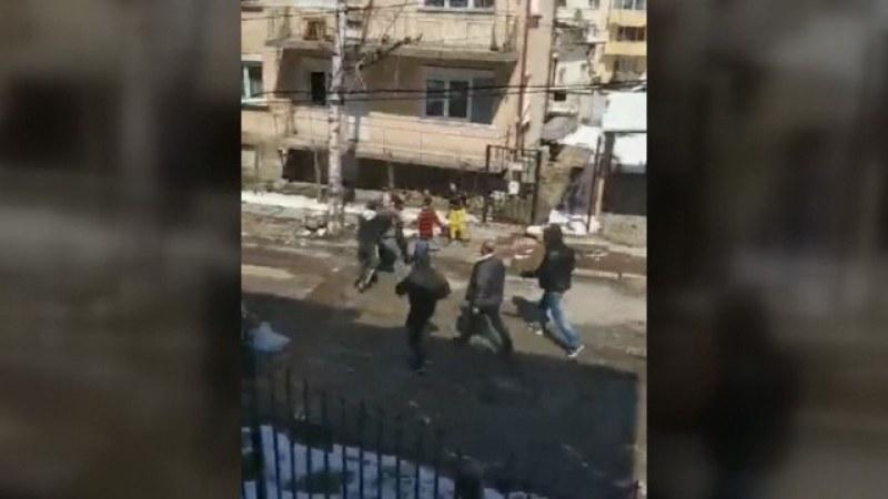 Масов бой във Враца, заради мерките срещу коронавируса