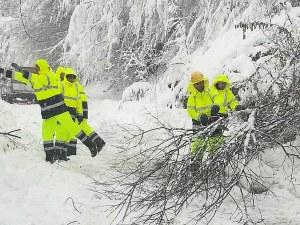 1 метър сняг! Община Рудозем обяви бедствено положение