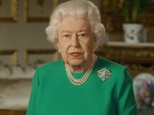 Кралицата произнесе петата извънредна реч в своето царуване