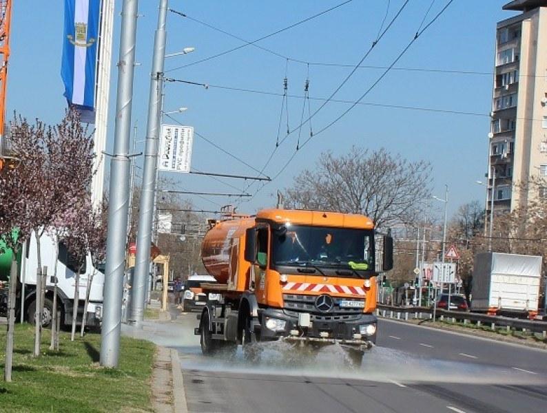 Ударна дезинфекция на улици и площади в Пловдив! Ето графика