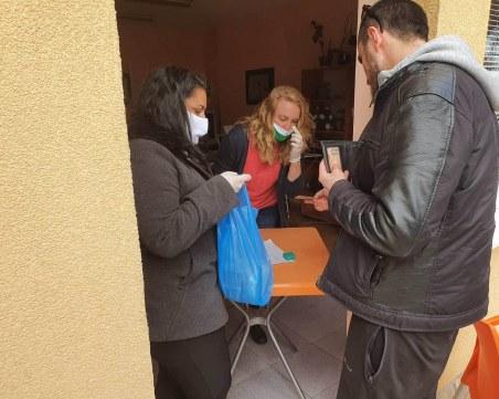 50 нуждаещи се в Пловдив с безплатен обяд до края на извънредното положение