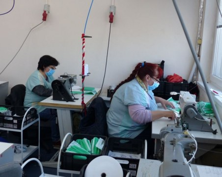 Немско предприятие в Пловдив преустрои дейността си в подкрепа на медиците