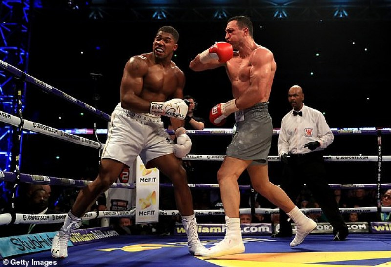 Джошуа разкри кой го е удрял най-силно на ринга
