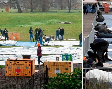 Крайна мярка: Ню Йорк може да използва паркове си за погребения на жертвите на COVID-19