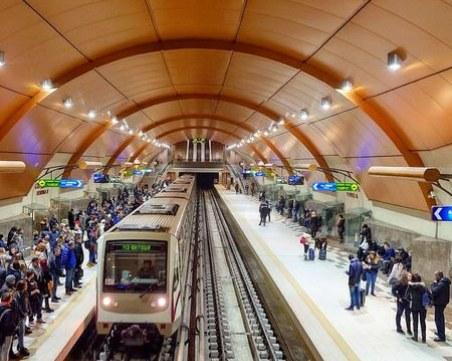 С камери ще следят за дистанцията между хората, чакащи метрото в София