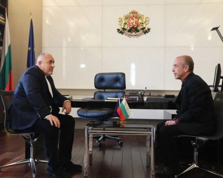 Борисов благодари на Мангъров: Ще се вслушваме във всяко експертно мнение