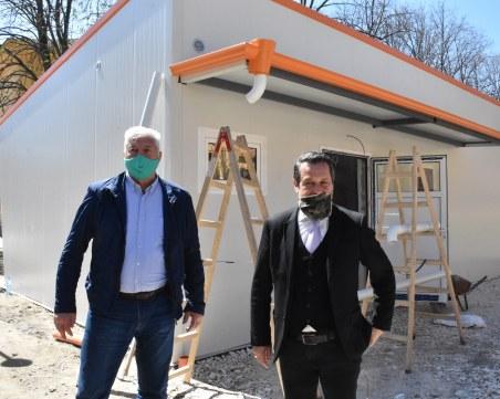 Изграждането на лабораторията за COVID-19 в Пловдив - на финал