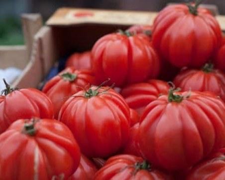 Откриха пестициди в 5 тона домати от Турция