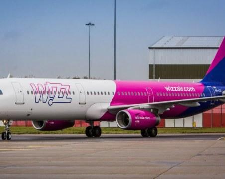 Wizz Air спира всички полети между София и Лисабон