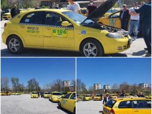 Пловдивски таксиджии: Ножът е до кокала, ще търпим до края на седмицата