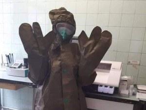 Проф. Кантарджиев: Противохимическите дрехи във Враца са за дезинфекторите, не за медиците