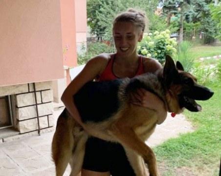 Домашните любимци на Марица: Кучето на Алекс Миланова помага в тренировките й