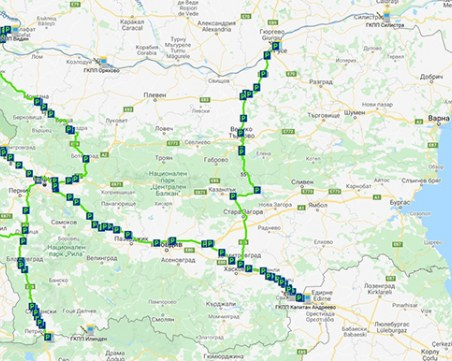 Специално за шофьорите: Направиха интерактивна карта на