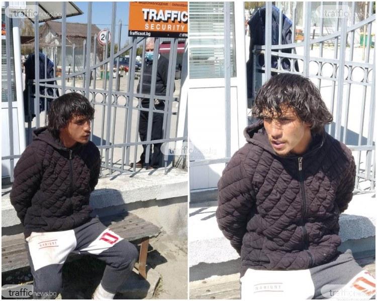 Мъж нападна охранители на гробищен парк в Пловдив, арестуваха го