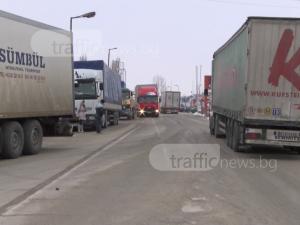 Турция освобождава от карантината българските шофьори на тирове