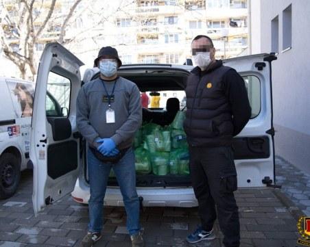 Феновете на Ботев продължават с подкрепата си към БЧК
