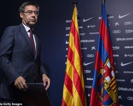 Някой бъркал в касата на Барселона