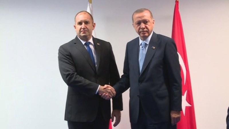 Ердоган към Румен Радев: Разрешете износа на етанол от България за Турция