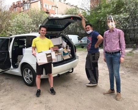 Младежите от Интеракт клуб Пловдив-Филипопол помагат на самотни майки и семейства с деца