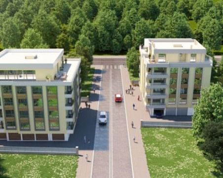 Започна строежът на най-новия квартал в зеления район на Пловдив
