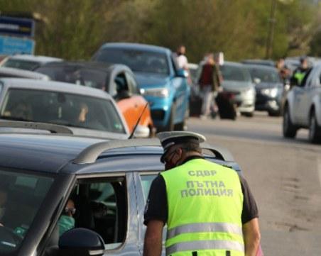 Пиян шофьор опита да премине барикадата в София