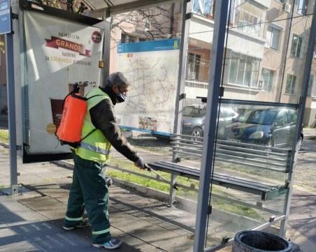 Продължава дезинфекцията на всички улици в  Пловдив! Вижте графика