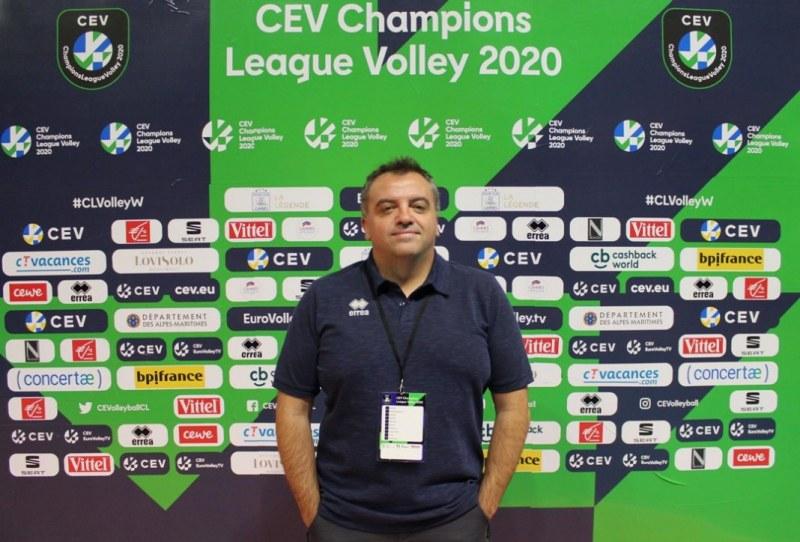 Николай Марков: Марица вече е голям европейски клуб