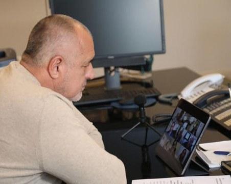 Бойко Борисов ще участва в онлайн заседание на Европейския съвет днес