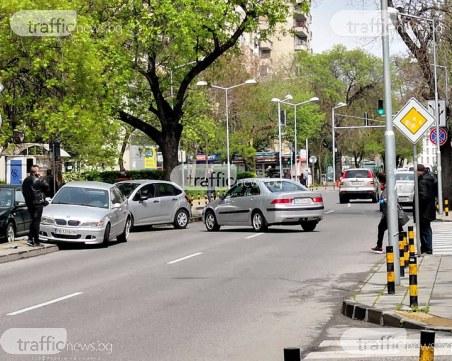 Катастрофа затапи централна улица в Пловдив