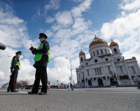 Над 5200 заразени с COVID-19 в Русия само за ден