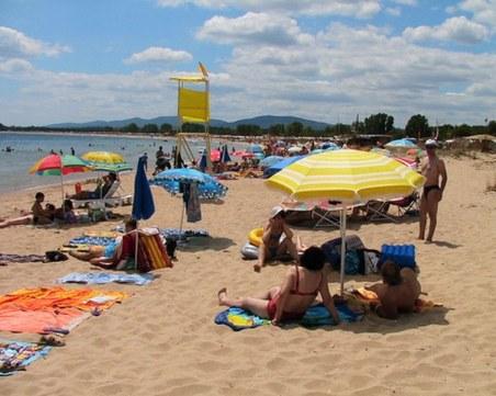 Плажът на