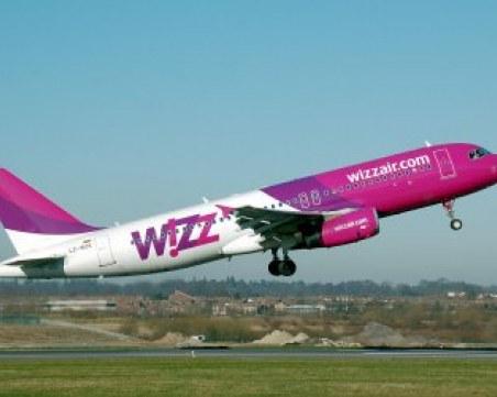 Wizz Air отменя полетите между София и Лондон