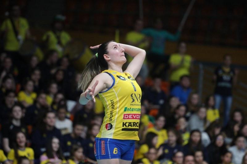 Еми Димитрова: Исках да вземем златото с игра