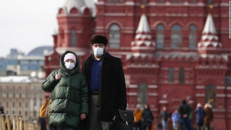 Само за 24 часа: Над 6300 заразени в Русия