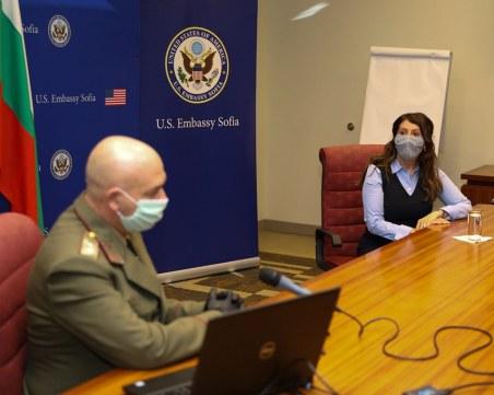Посолството на САЩ: Високо ценим работата на ген. Мутафчийски и НОЩ