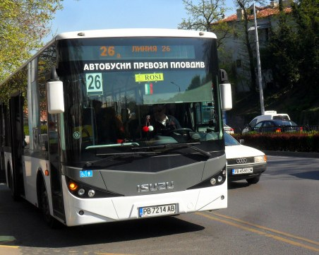 Затварят за ремонт улица в Пловдив, променят маршрута на 5 автобуса