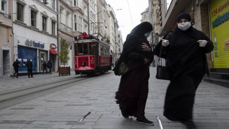 Турция отчита намаляване на смъртността от COVID-19