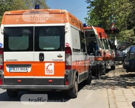 Три коли се нанизаха в Пловдив, двама пострадаха