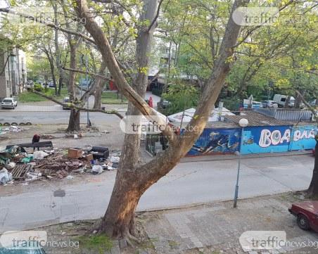 Разтурят павилиони на улица