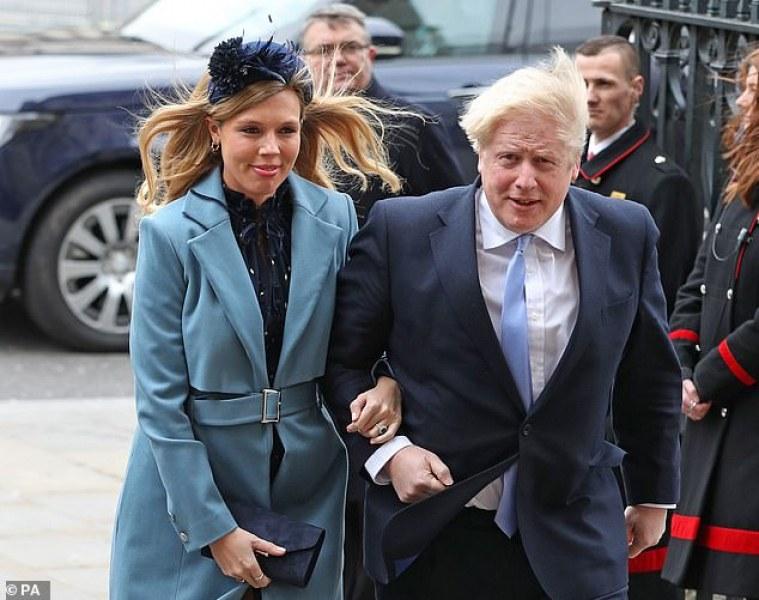 Борис Джонсън стана татко, след като пребори вируса