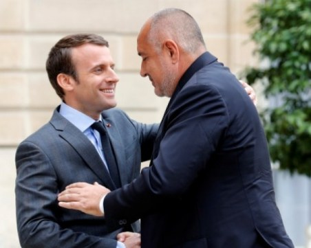Борисов разговаря с Макрон: България и Франция са готови на взаимопомощ в битката с COVID-19